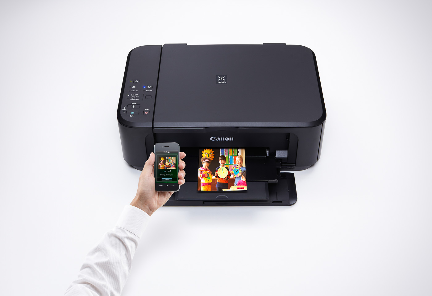 pixma mg3560 printing from a mobile device