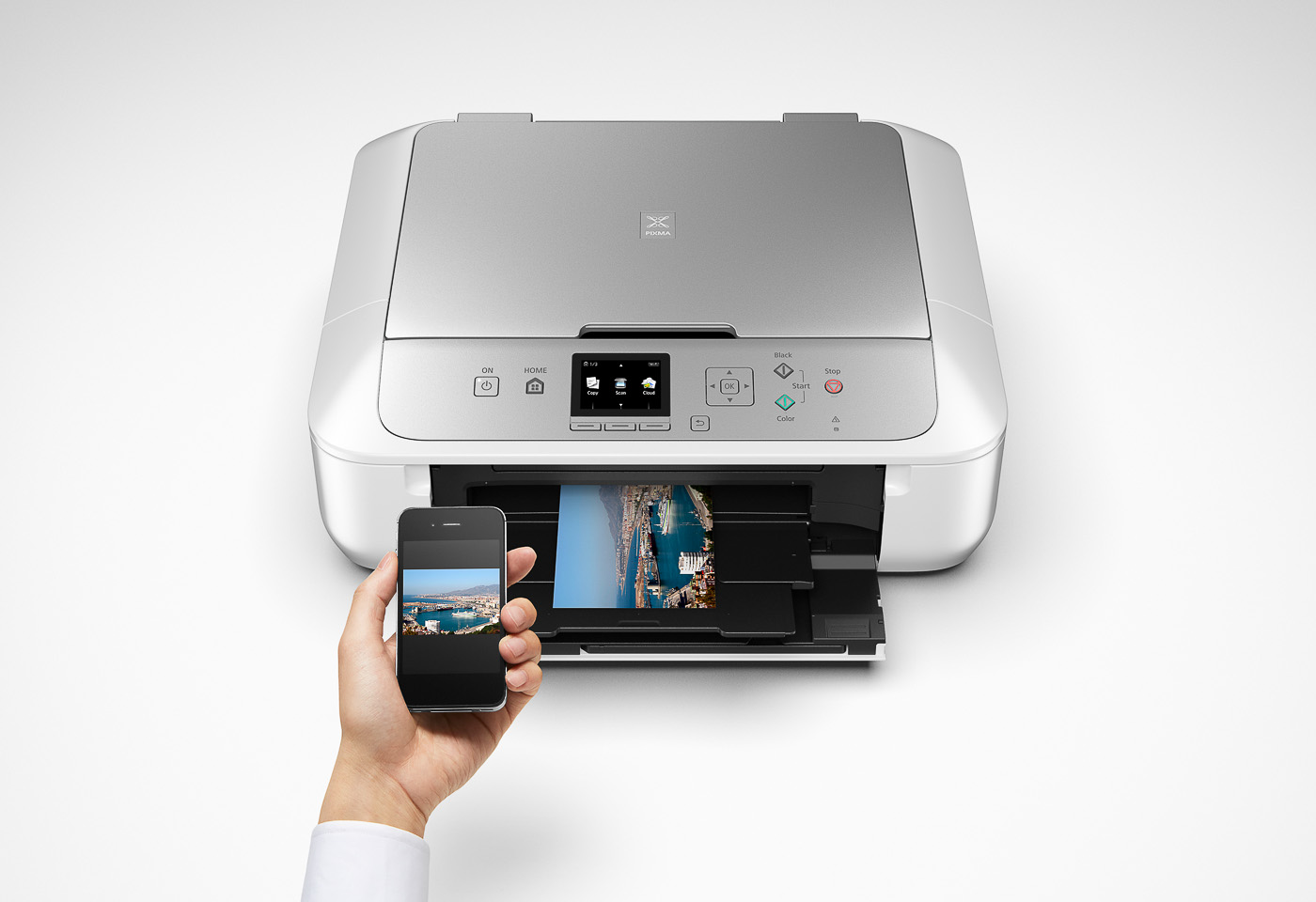 pixma mg5765 printing from a mobile device