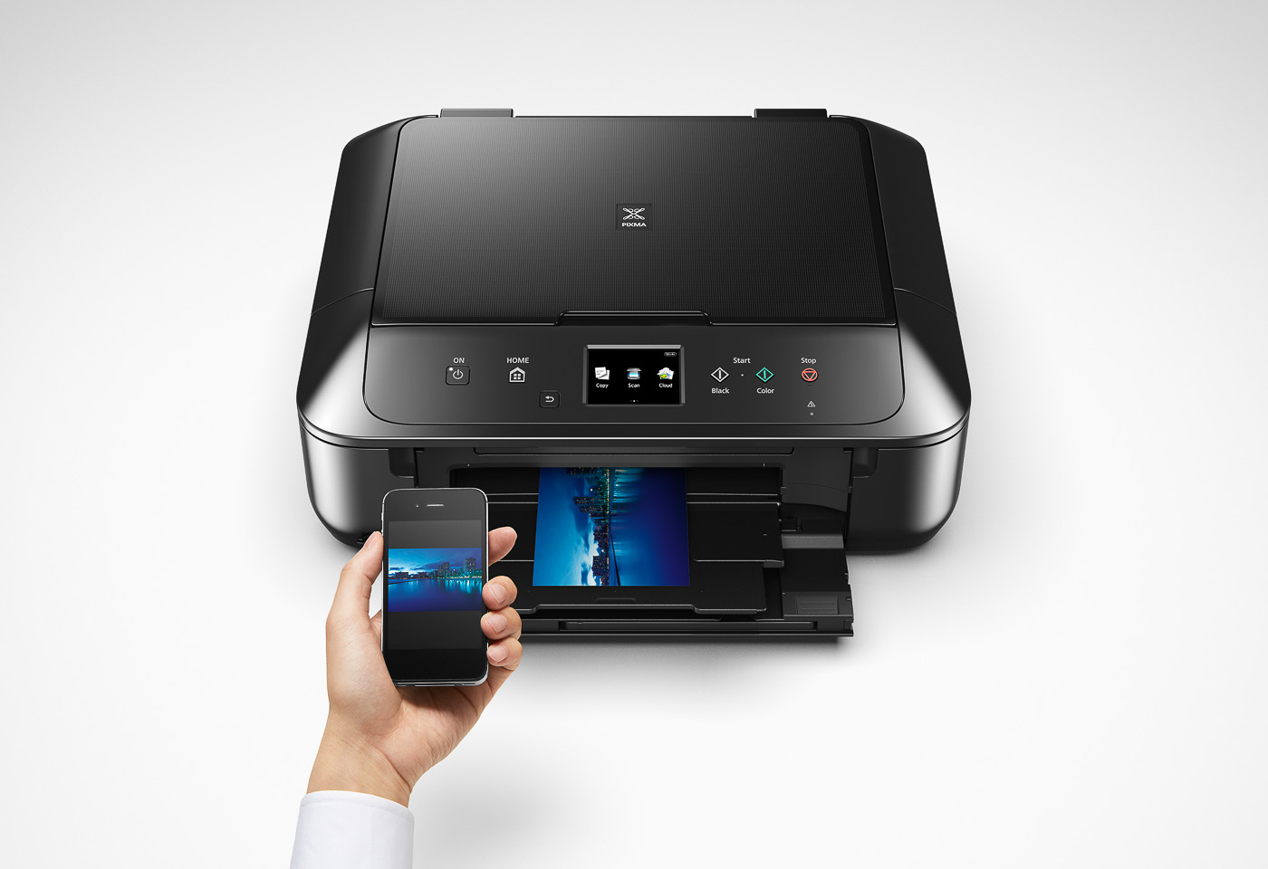 pixma mg6860 printing from a mobile device