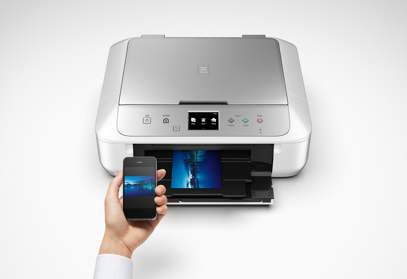 pixma mg6865 printing from a mobile device