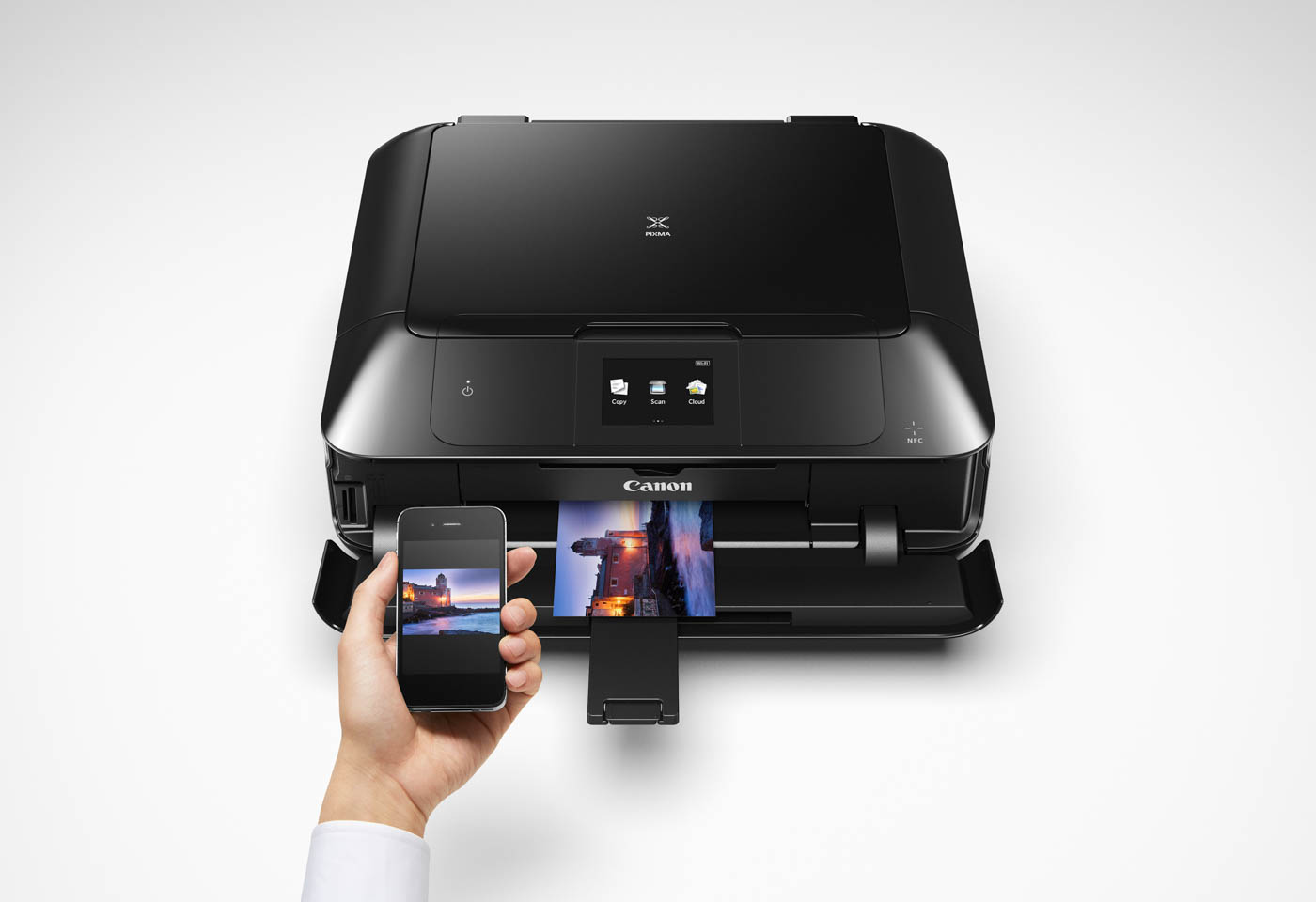 Canon PIXMA MG7760 printer with smart devices