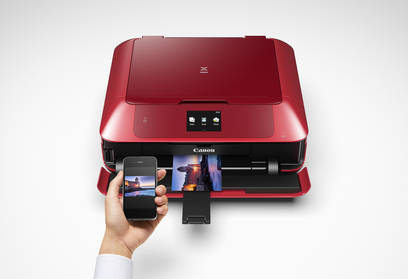 pixma mg7765 printing from a mobile device