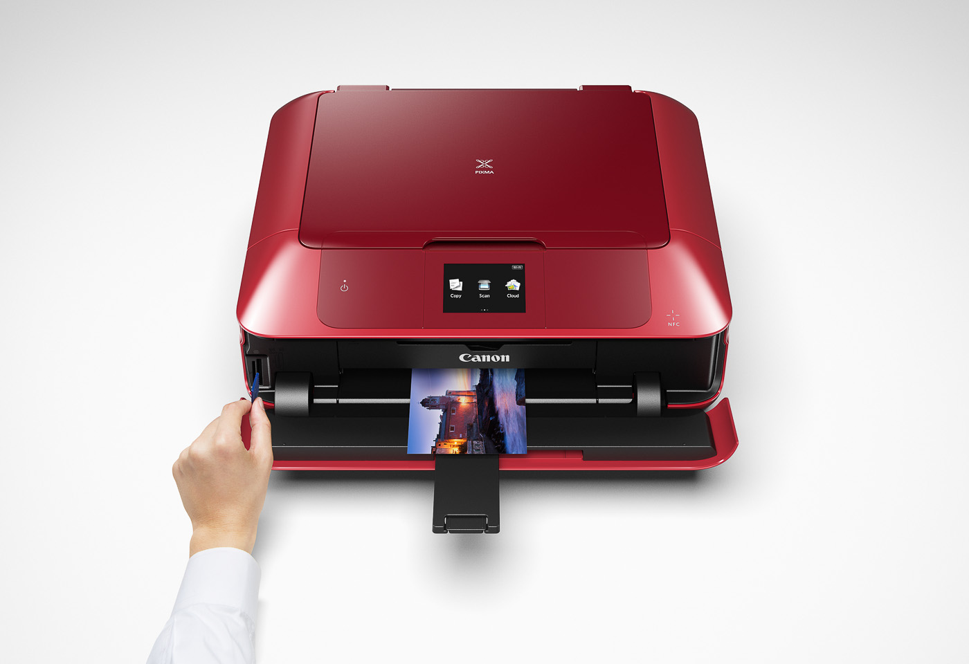 pixma mg7765 printing from an SD card