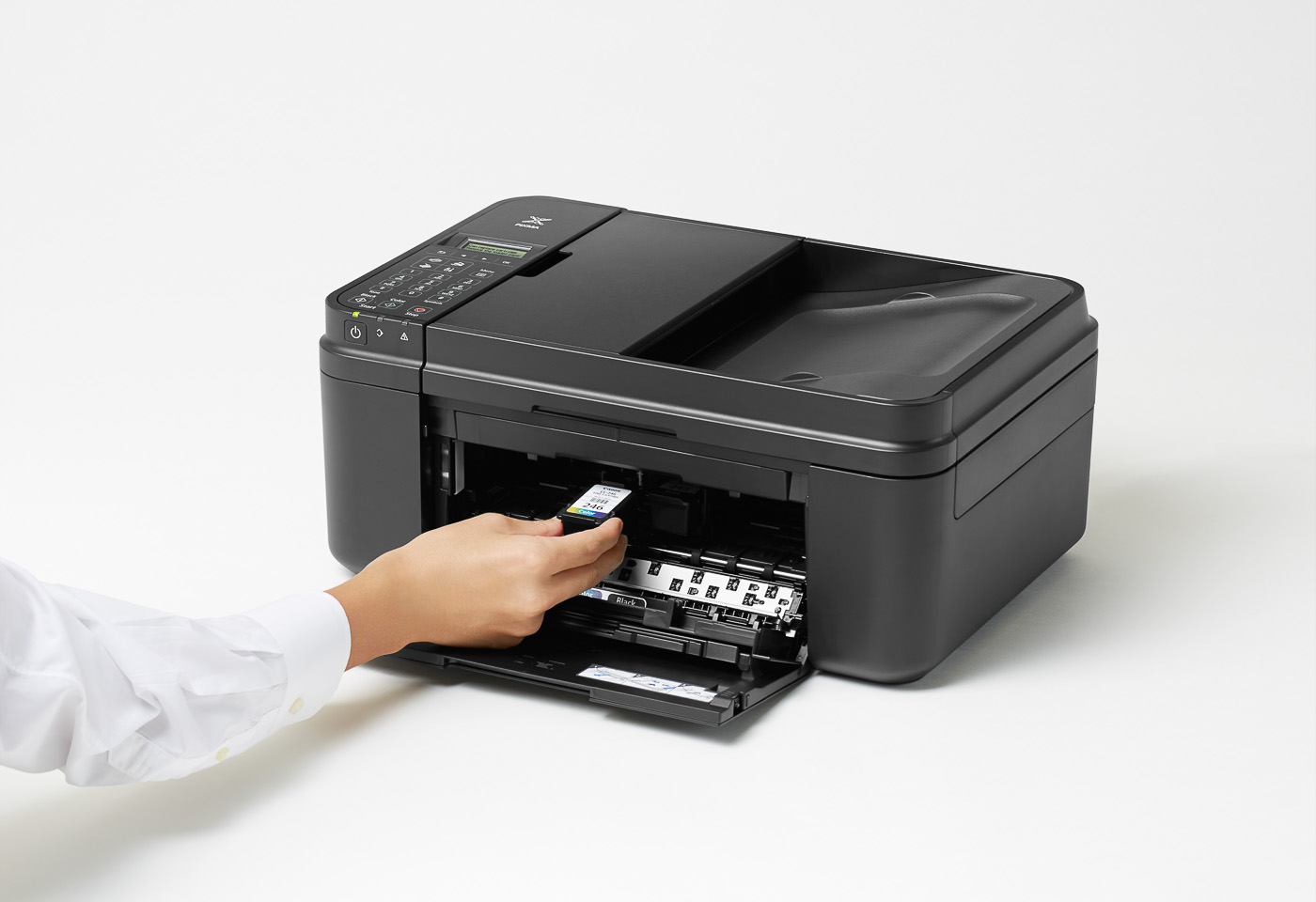 pixma mg496 replacing an ink cartridge