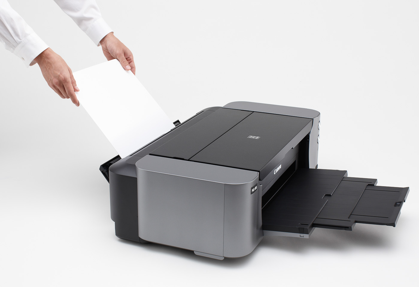 pixma pro 100 loading paper
