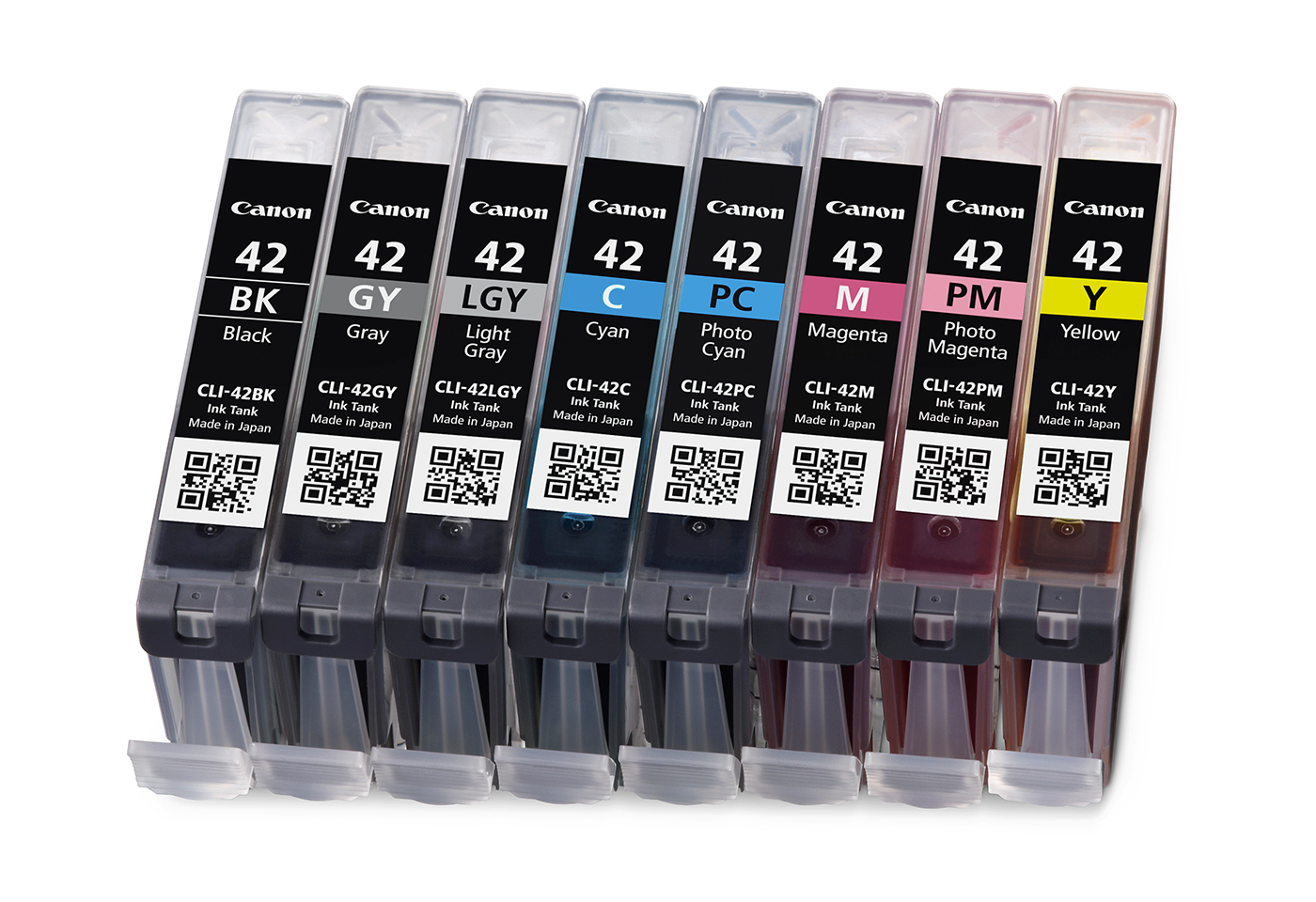 set of CLI42 inks