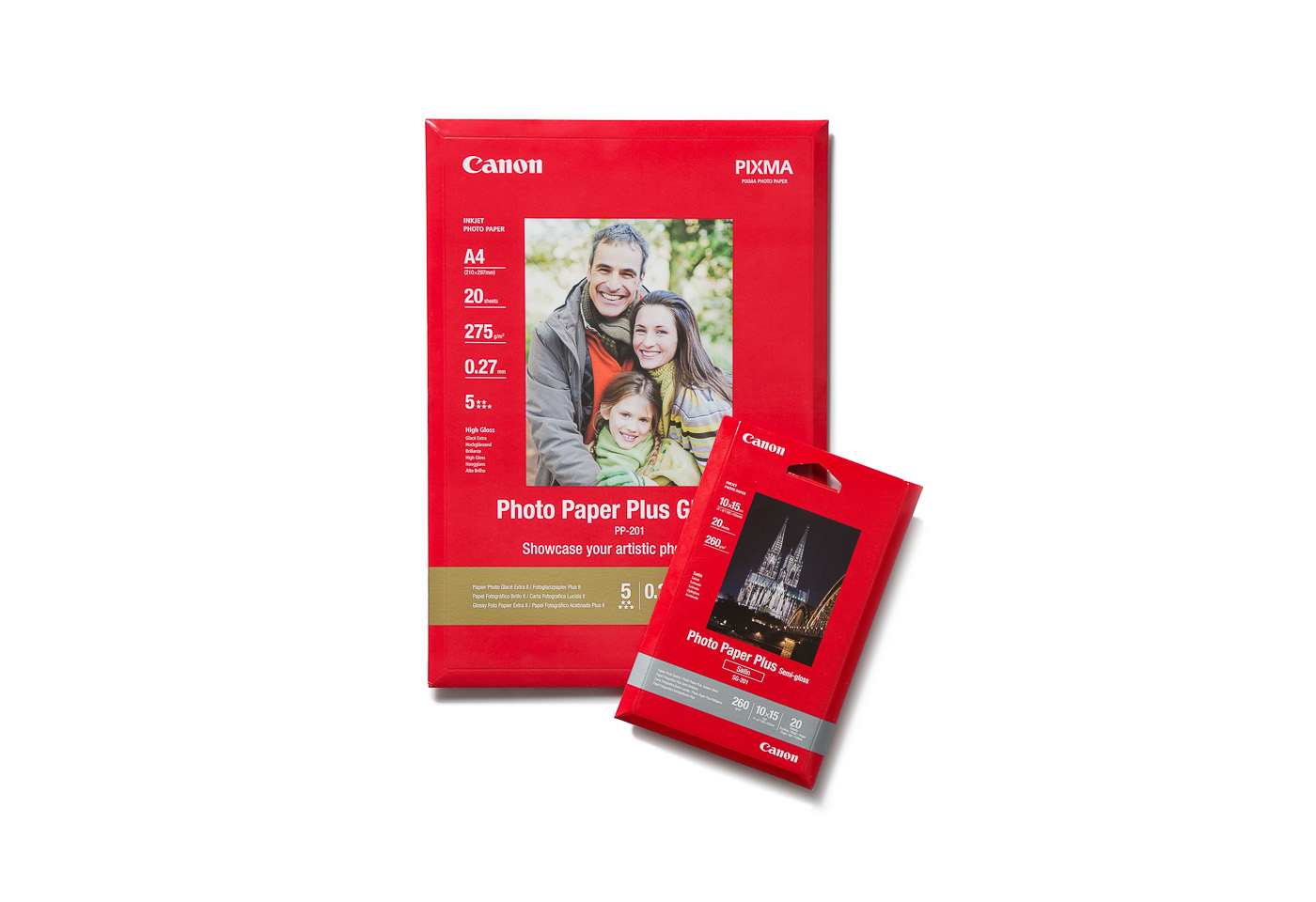 Canon PIXMA paper options