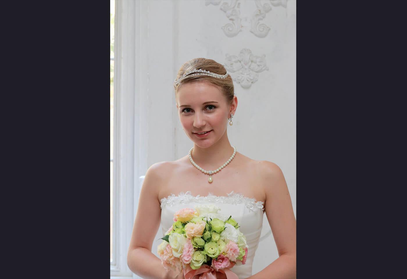 Bridal portrait using Canon Speedlite 430EX III-RT flash