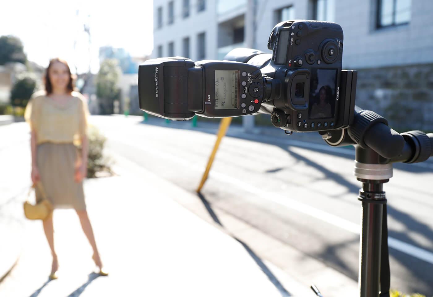 Girl taken with Canon Speedlite 600EX II-RT flash