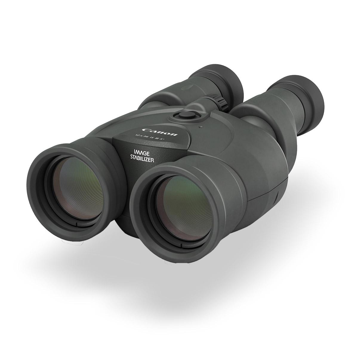 Canon 12 x 36 IS III binoculars