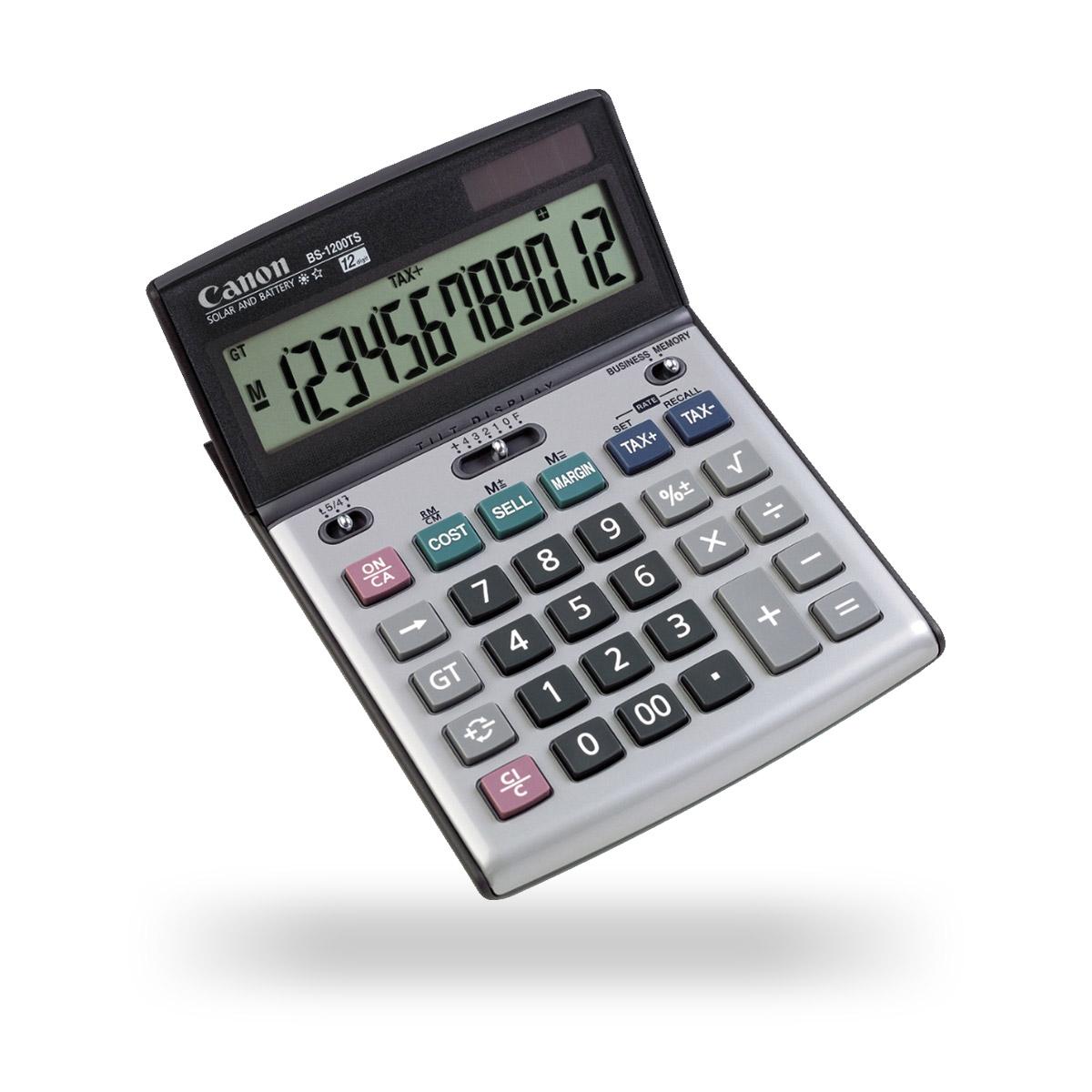 Canon BS-1200TS premium business desktop calculator