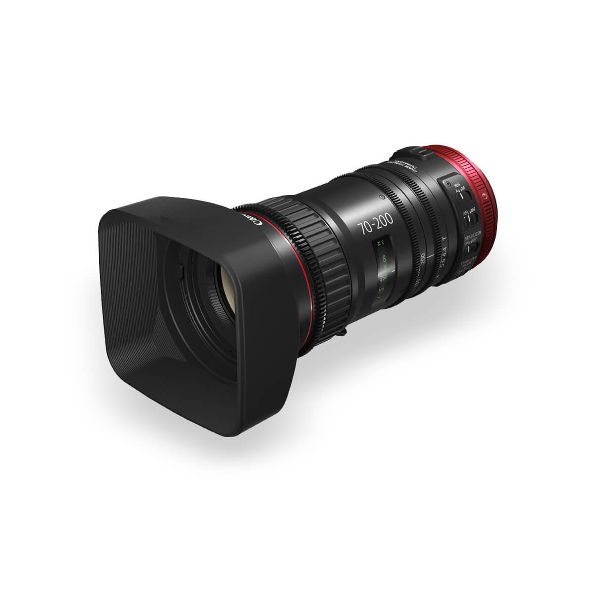 Product image of Canon CN E70-200 T4.4 cinema lens