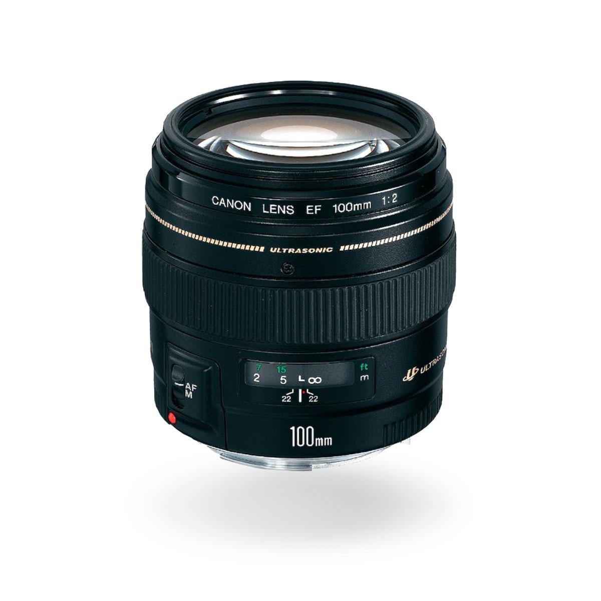 EF 100mm f/2 USM lens