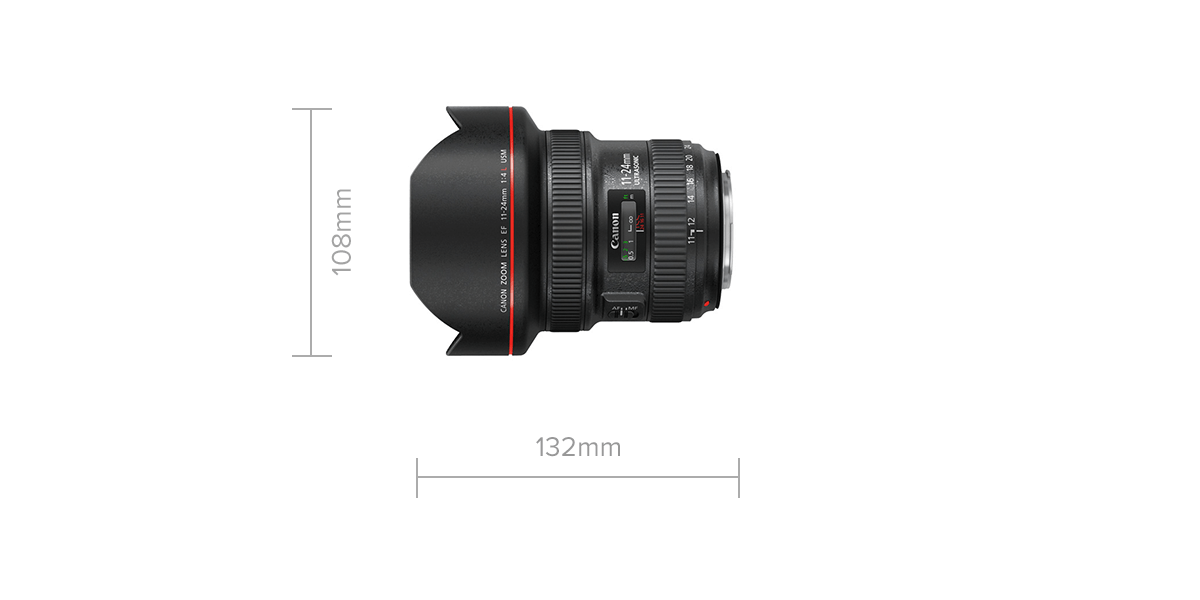 EF 11-24mm f/4L USM Specifications