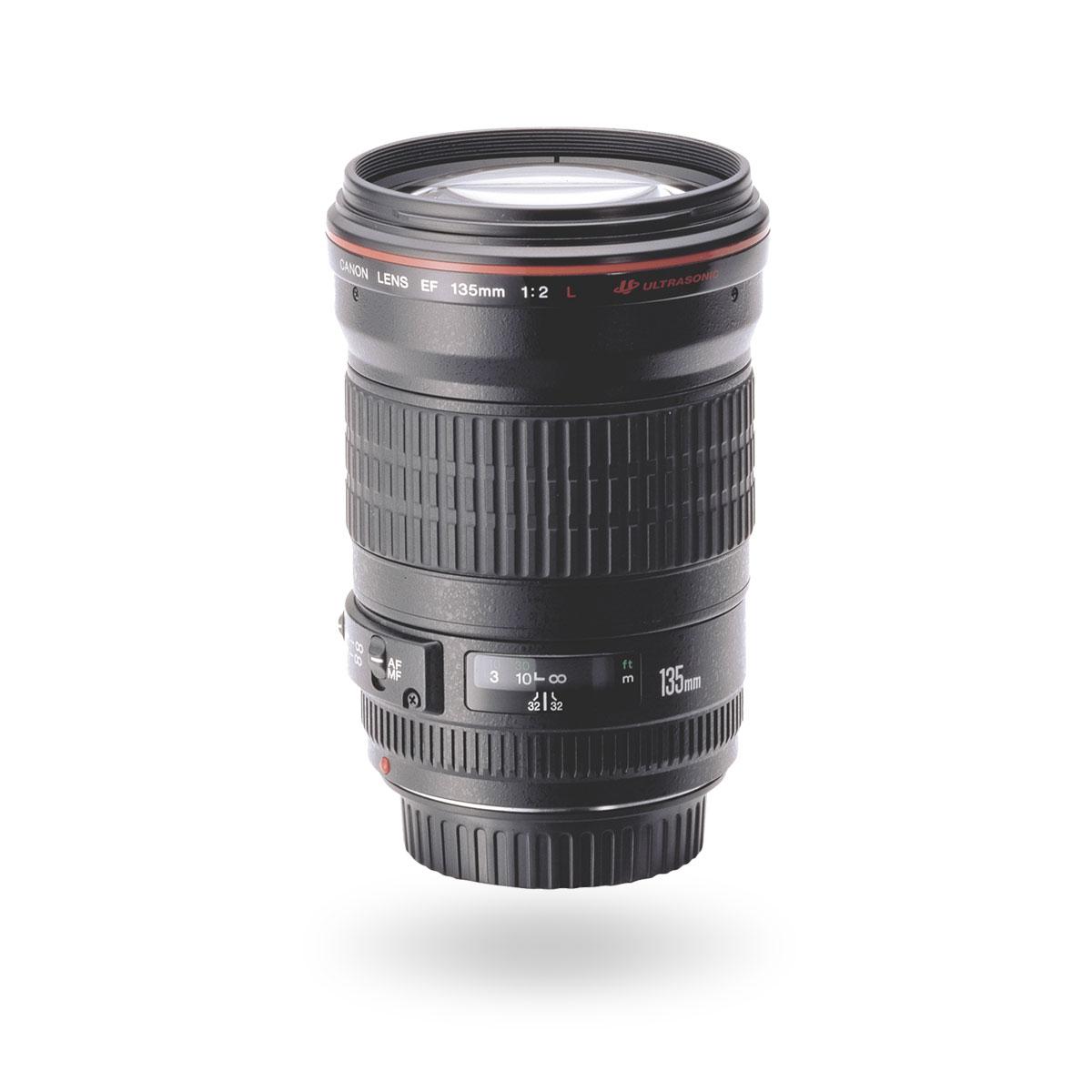 EF 135mm f/2L USM lens