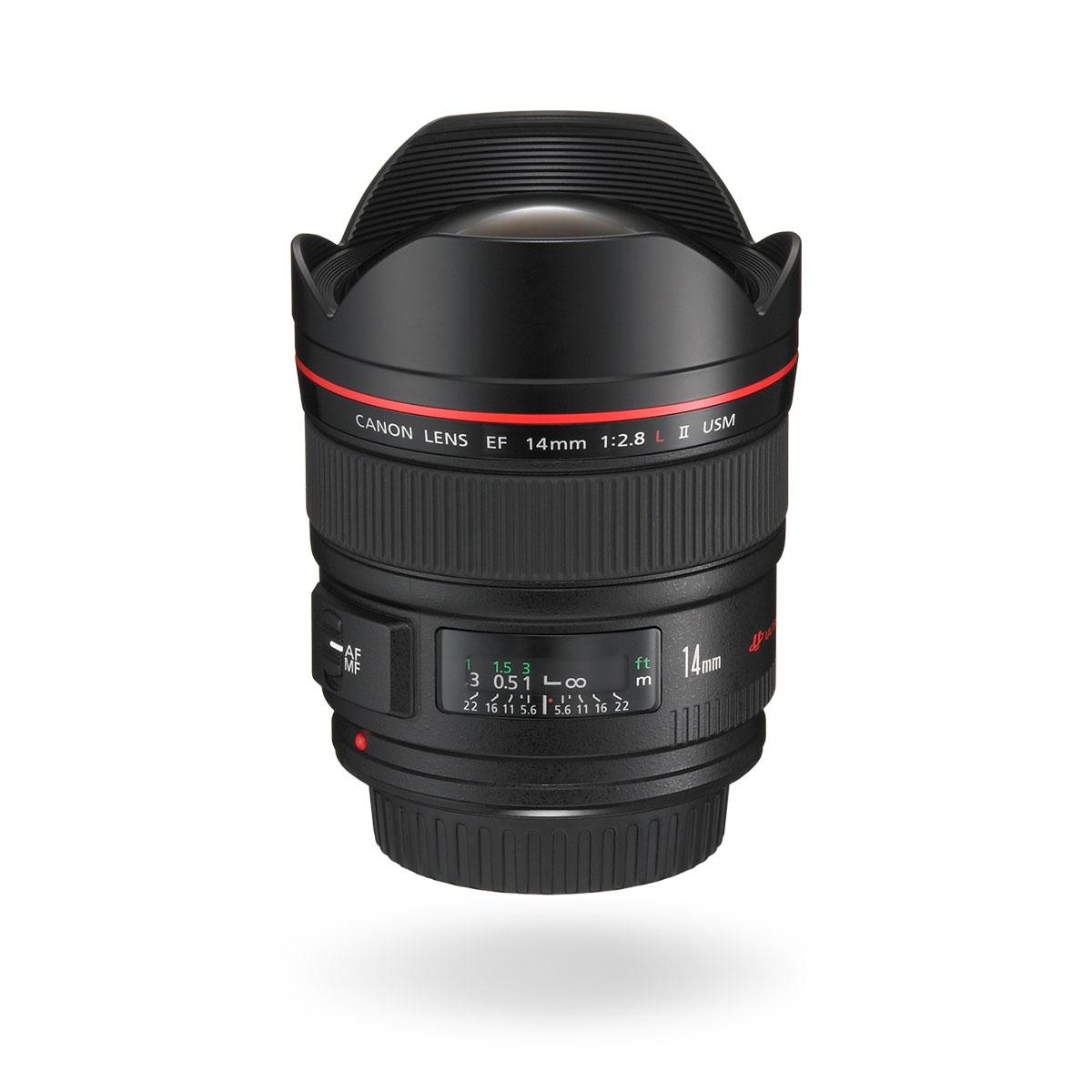 EF 14mm f/2.8L II USM lens