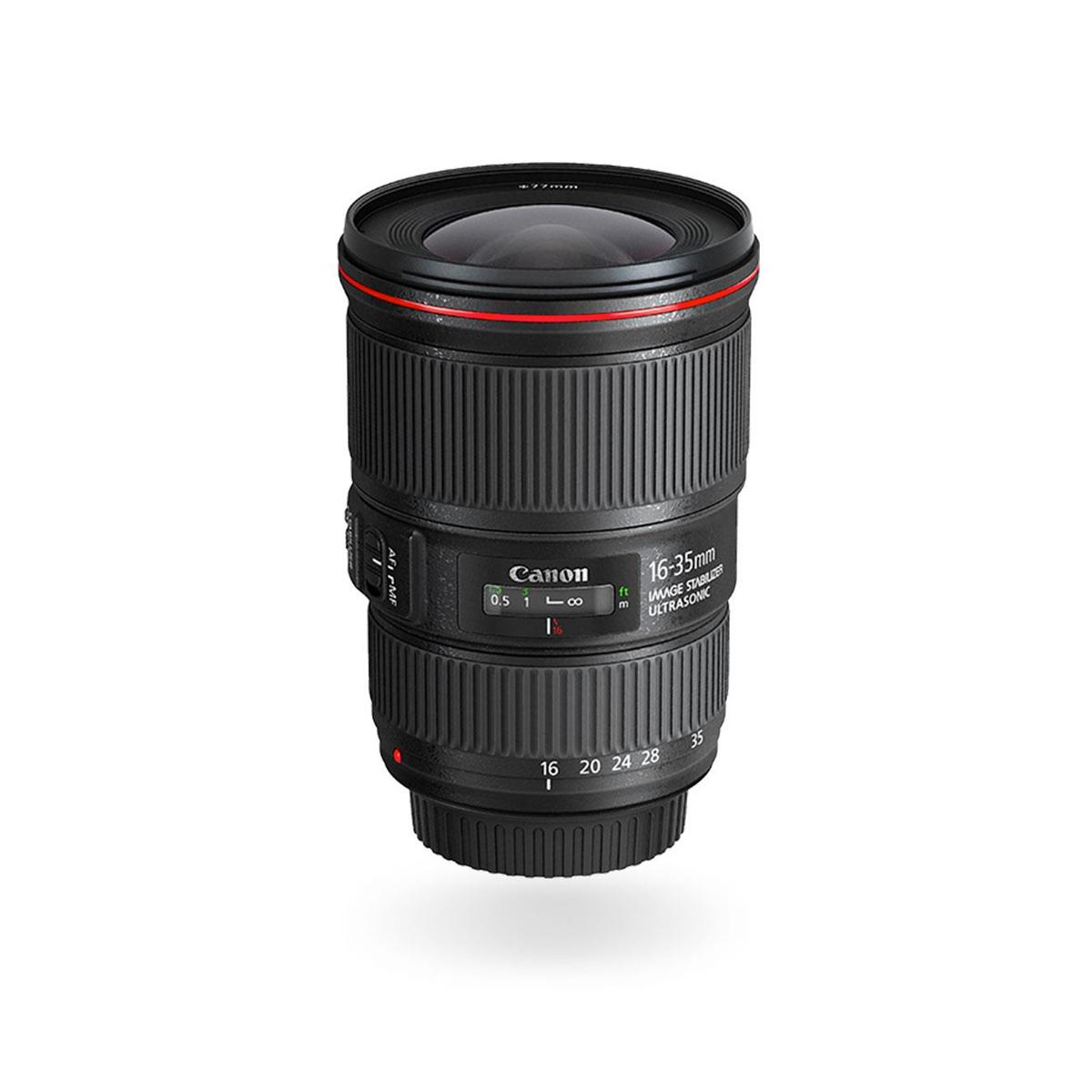 EF 16 35mm f 4L IS USM wide angle lens