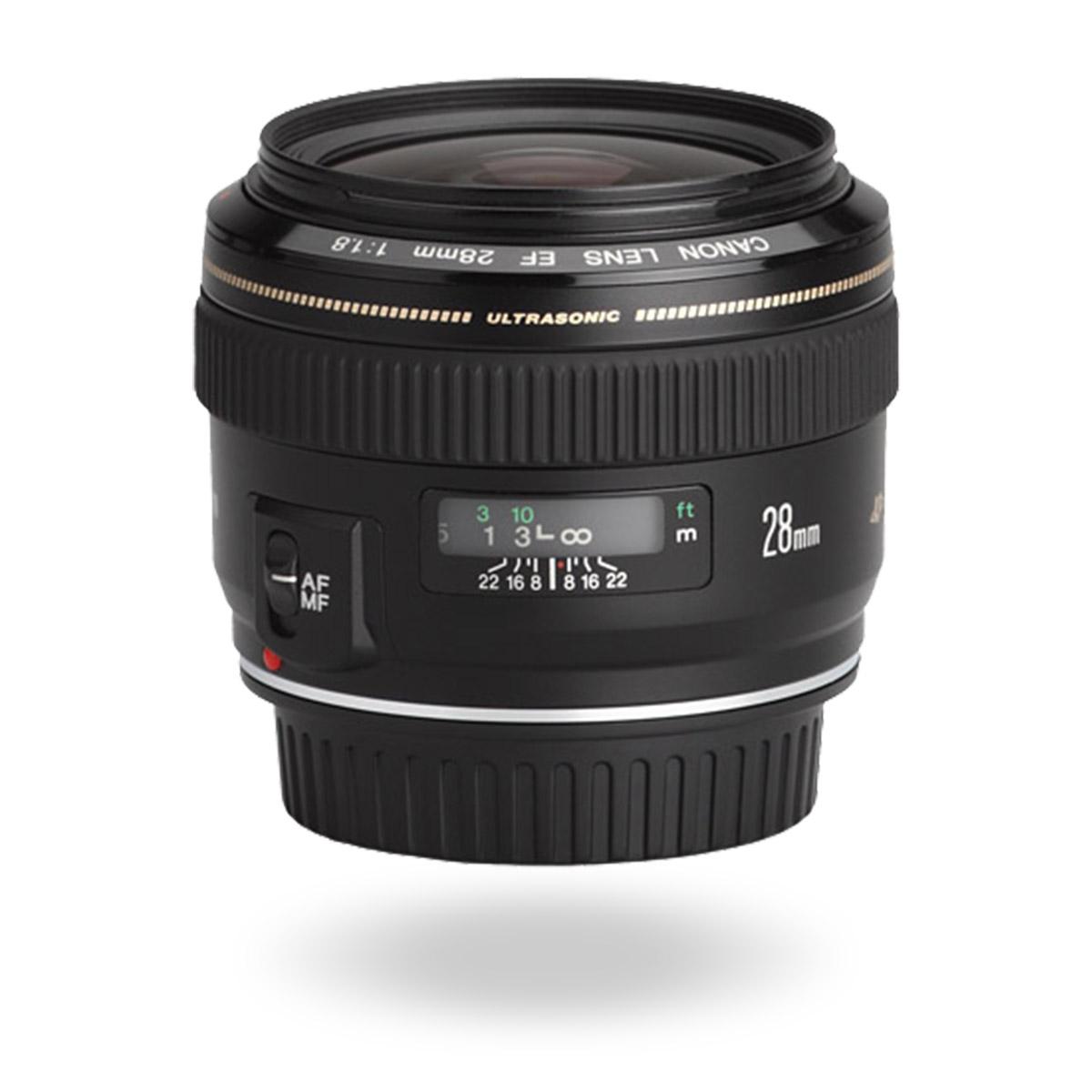 EF 28mm f/1.8 USM lens