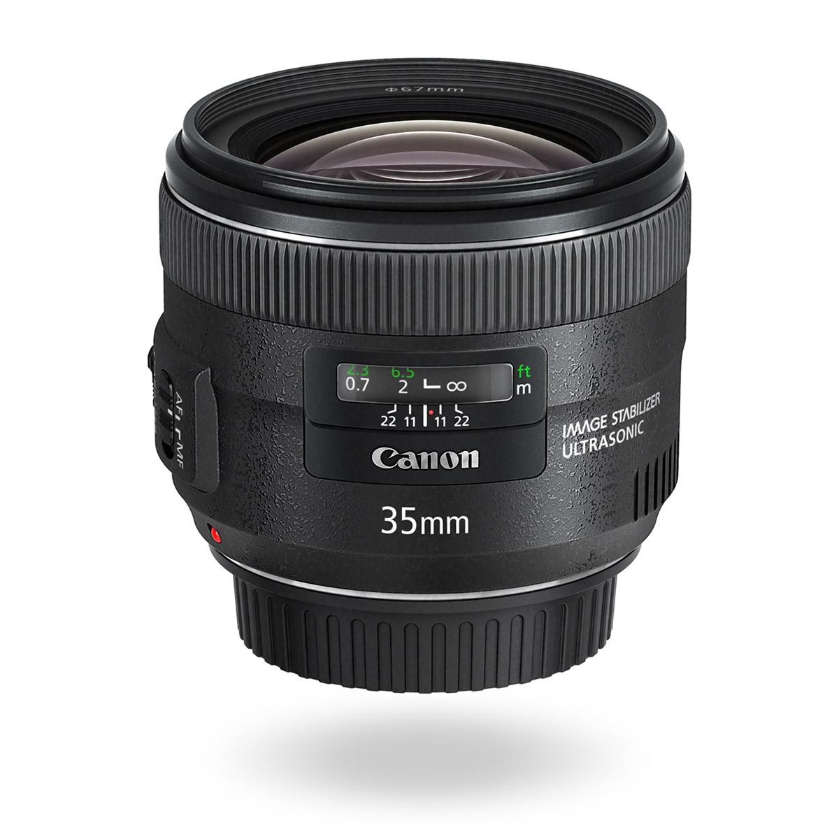 EF 35mm f/2 IS USM lens