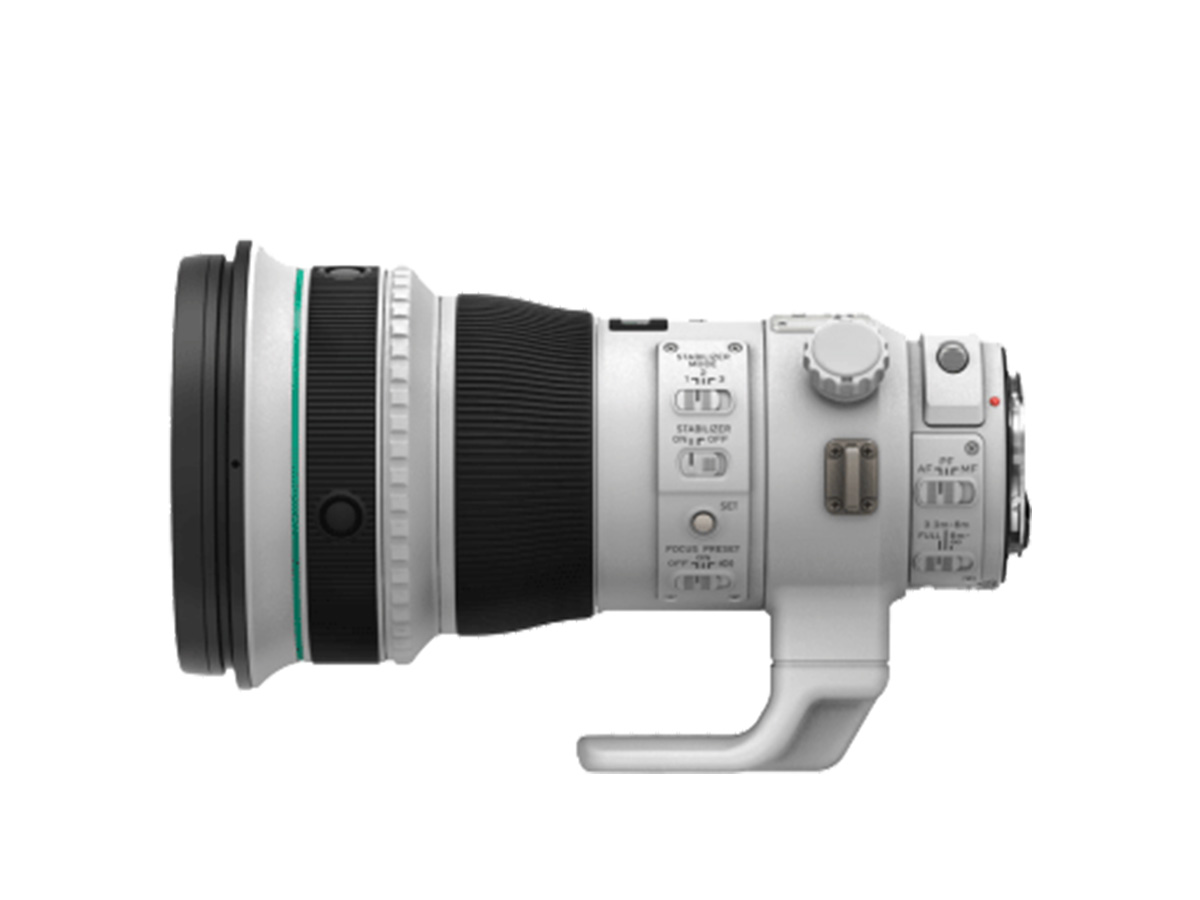 Side View of Canon EF 400mm f/4 DO IS II USM lens