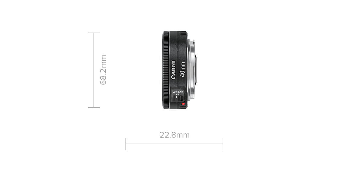 EF 40mm f/2.8 STM specifications