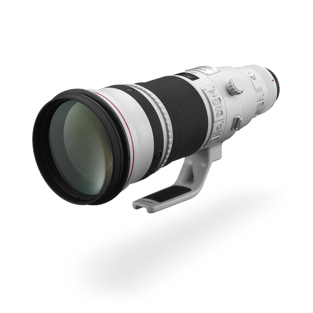 EF 500mm f/4L IS II USM lens