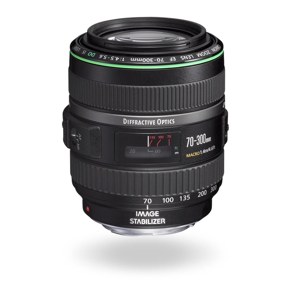 EF 70-300mm f/4.5-5.6 DO IS USM lens