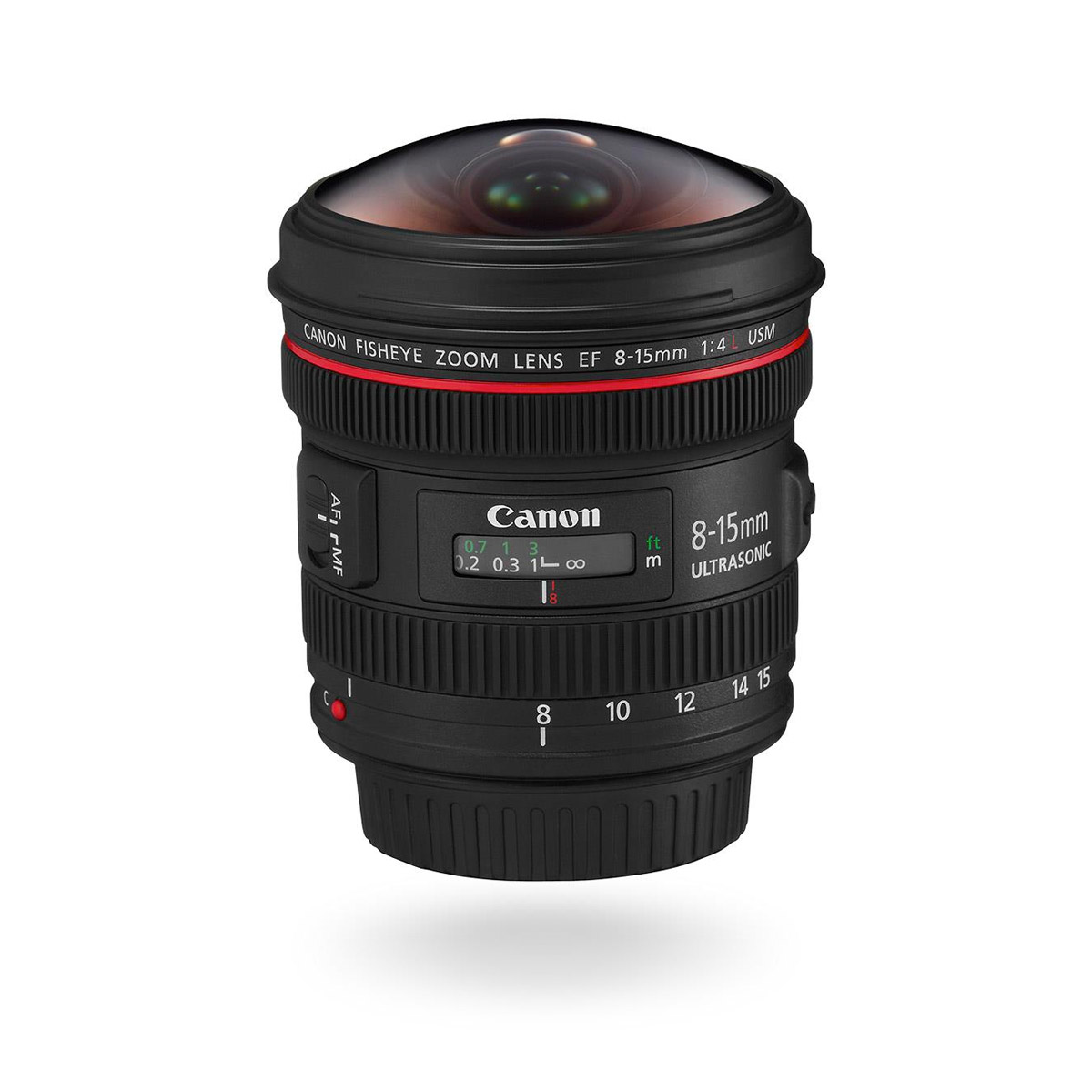 Fisheye lens EF 8 15mm f4 L USM