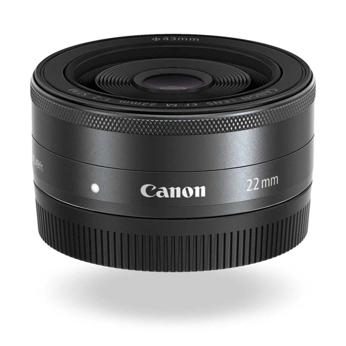 EF-M 22mm f/2 STM lens