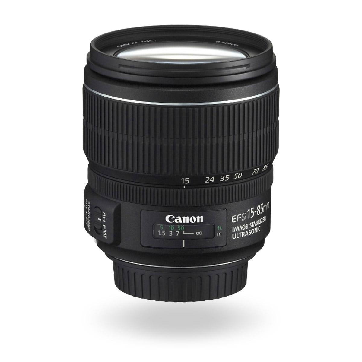 EF-S 15-85mm f/3.5-5.6 IS USM lens