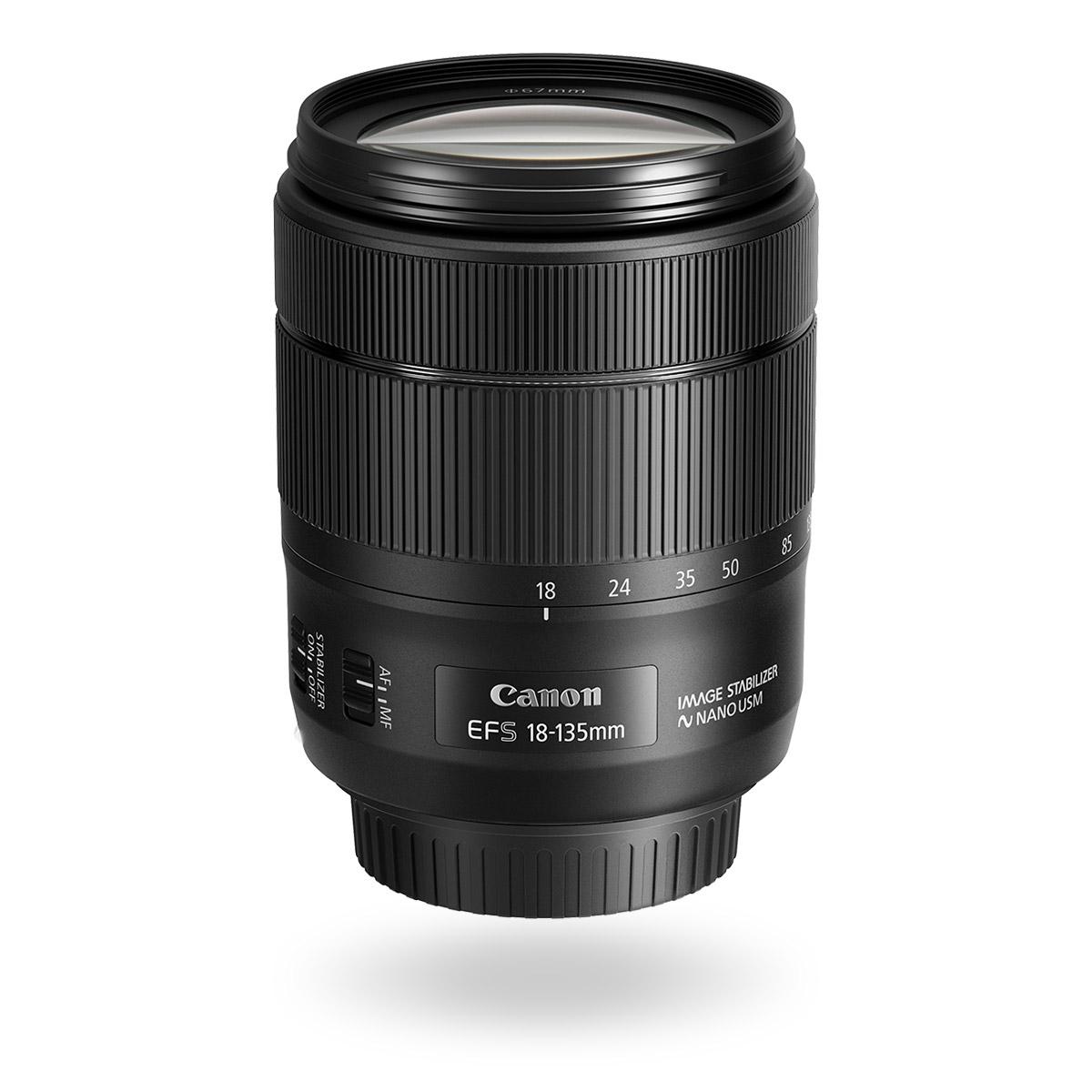 EF-S 18-135mm f3.5-5.6 IS USM Lens