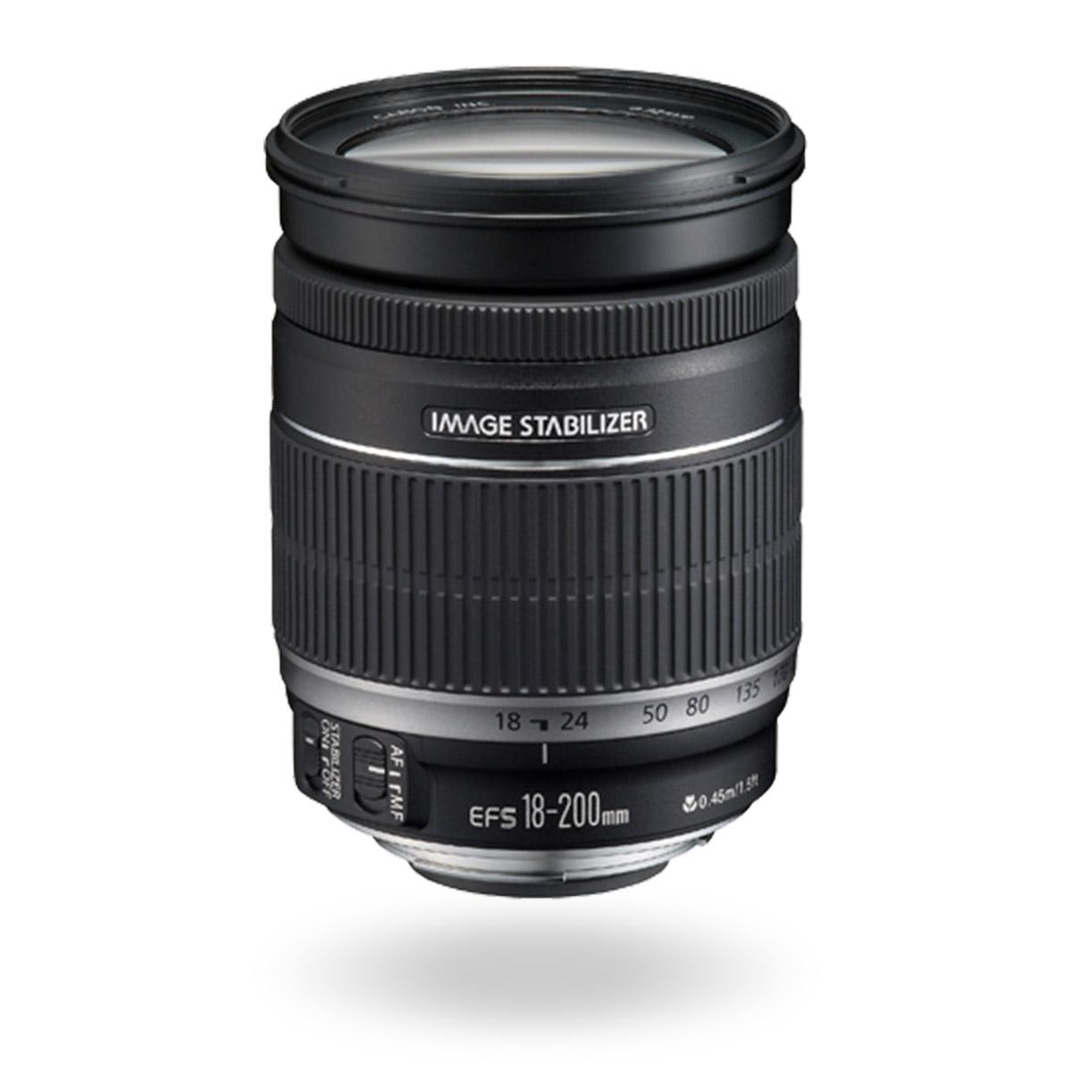 EF-S 18-200mm f/3.5-5.6 IS lens