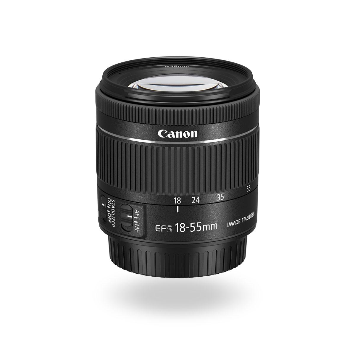 EF-S 18-55mm f/4-5.6 IS STM lens
