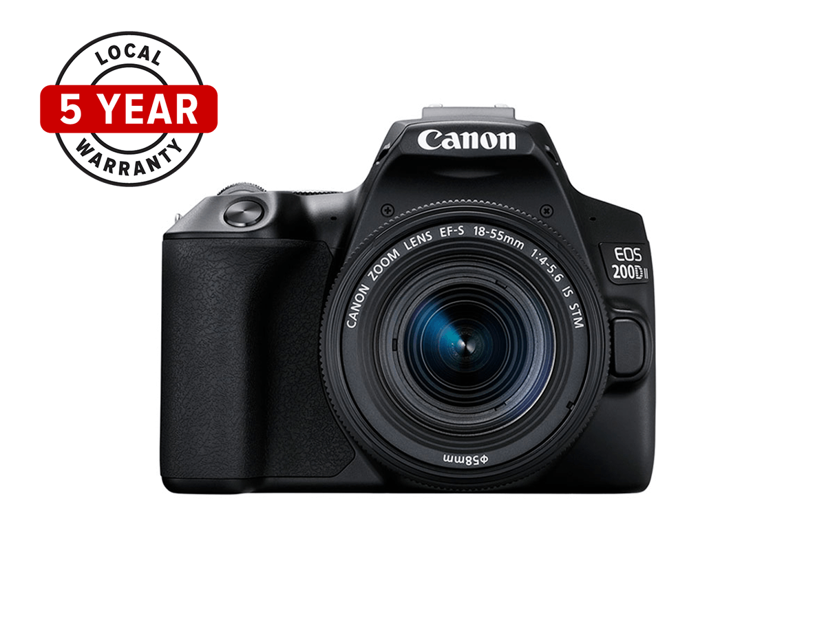 Product image of EOS 200D Mark II 5-year warranty