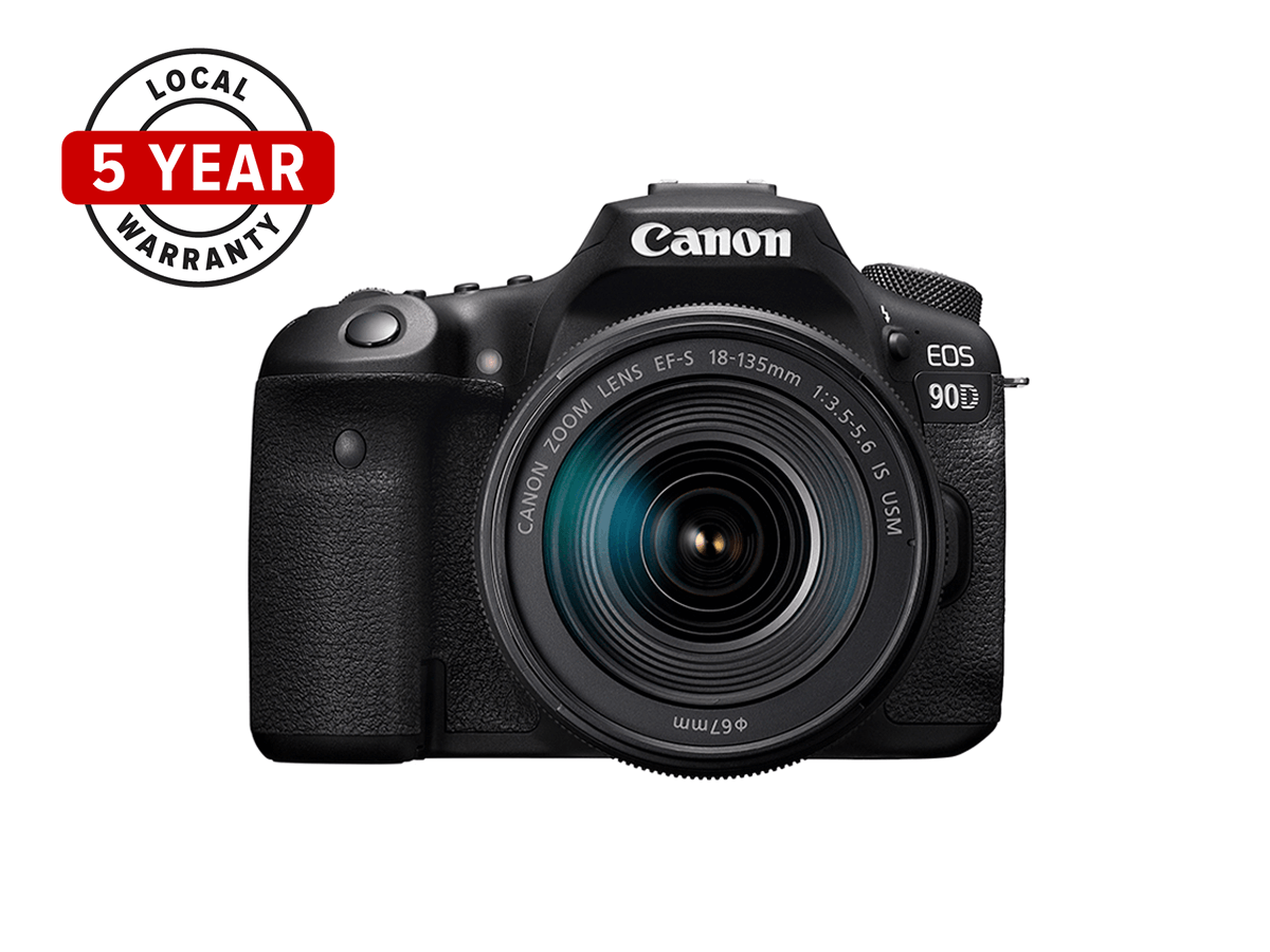 EOS 90D 5 Year Warranty