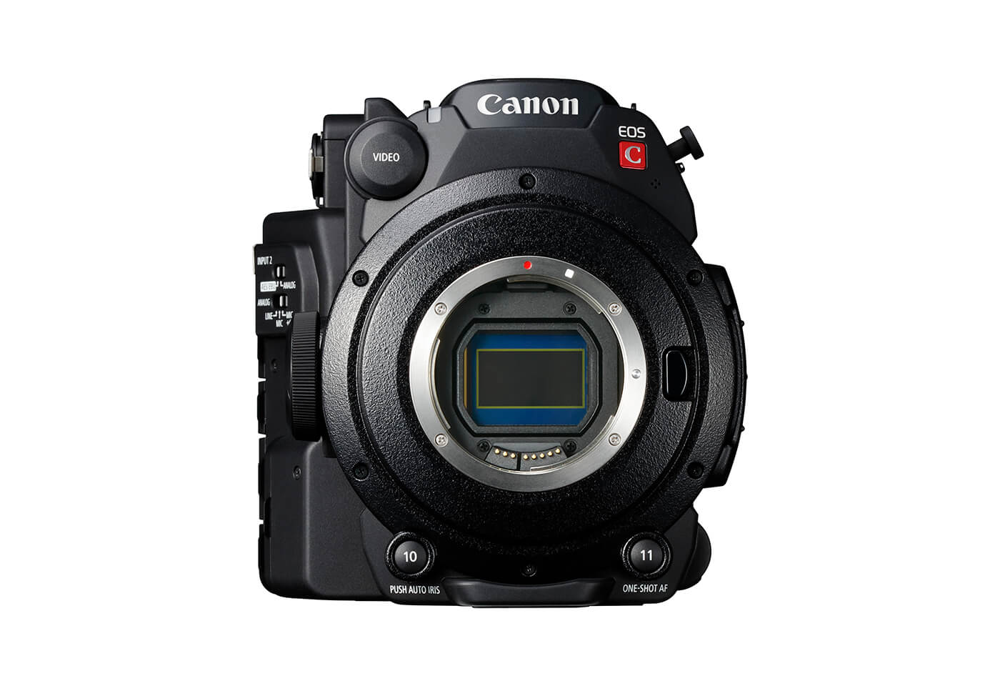 Front image of Canon EOS C200