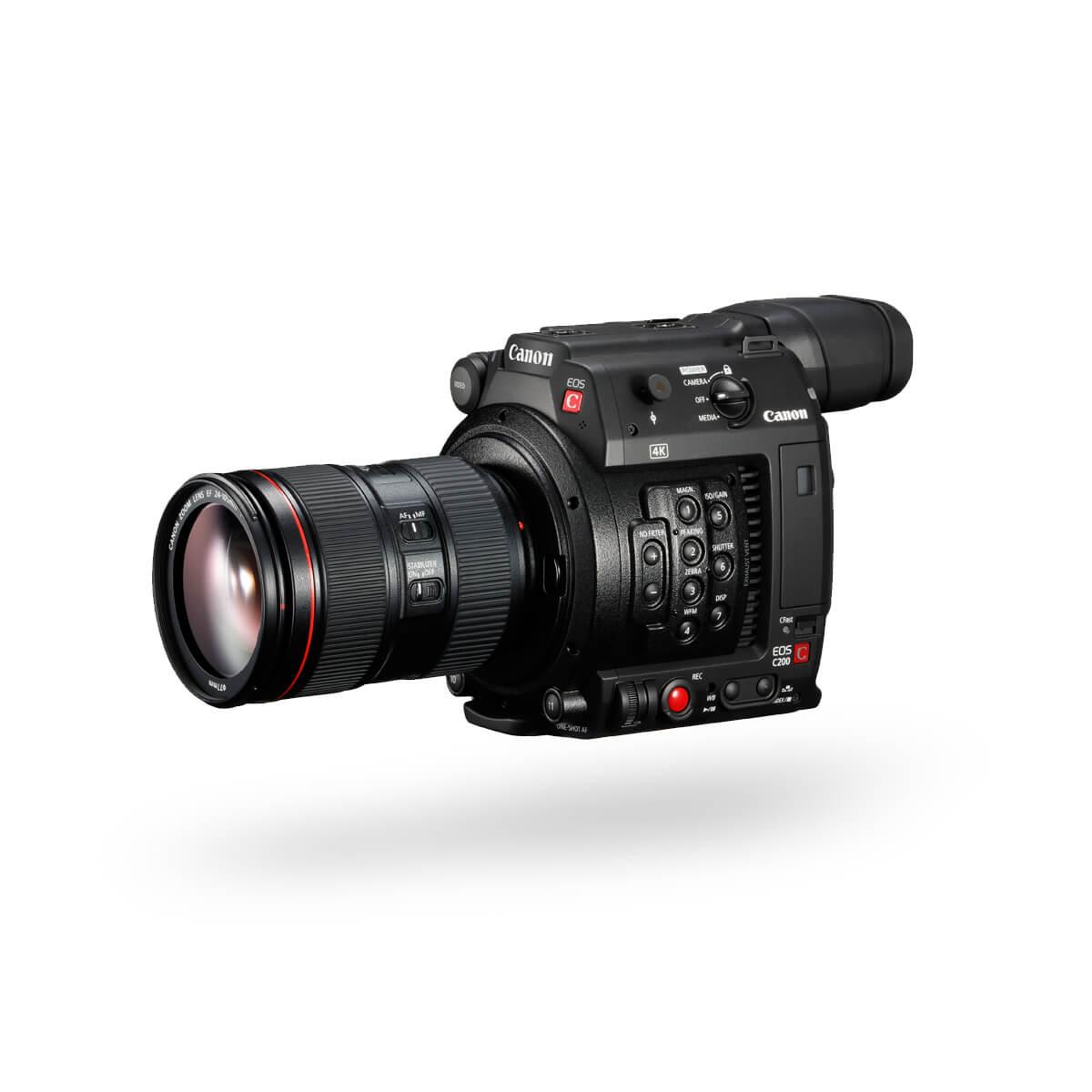 Hero Front image of Canon EOS C200