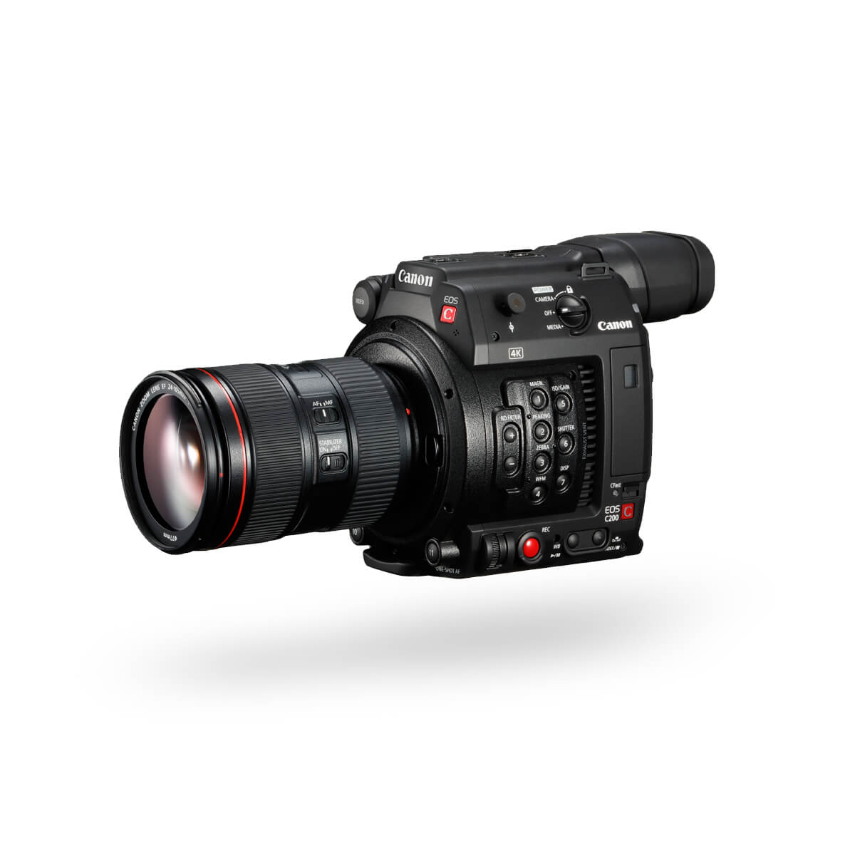 Hero Front image of Canon EOS C200