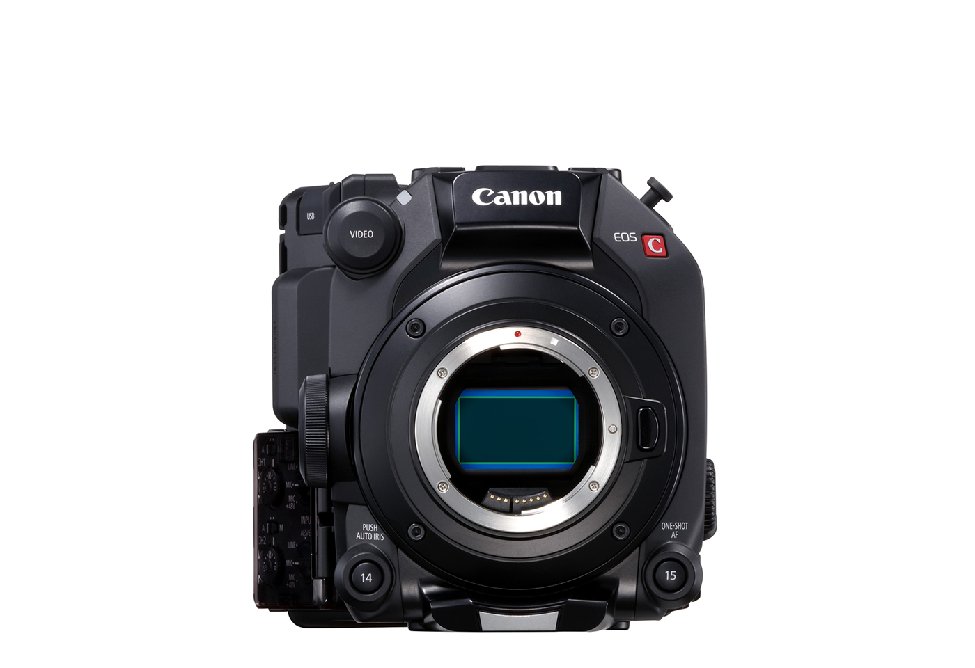 Front profile image for EOS C500 Mark II