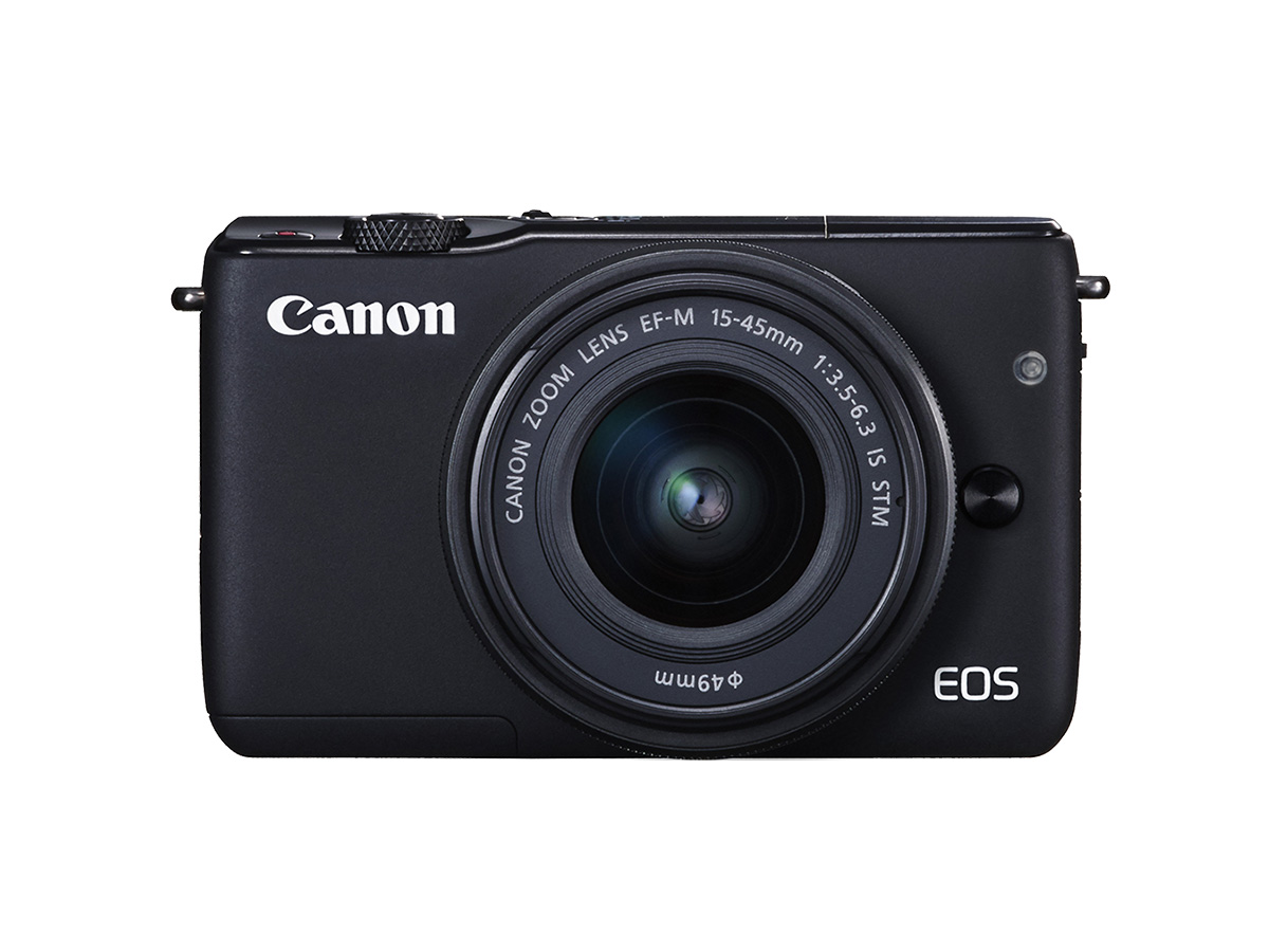 Canon Front of EOS M10 mirrorless compact camera