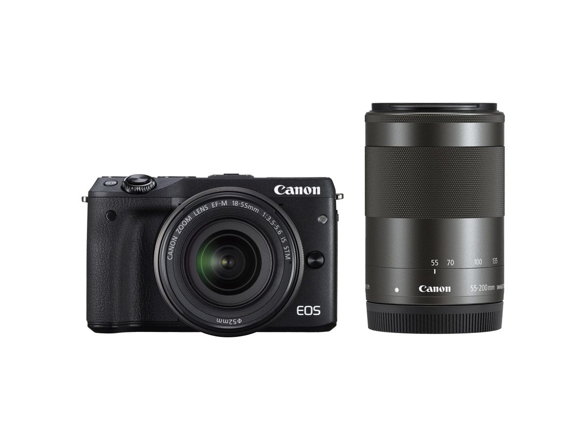 Canon EOS M3 twin lens kit