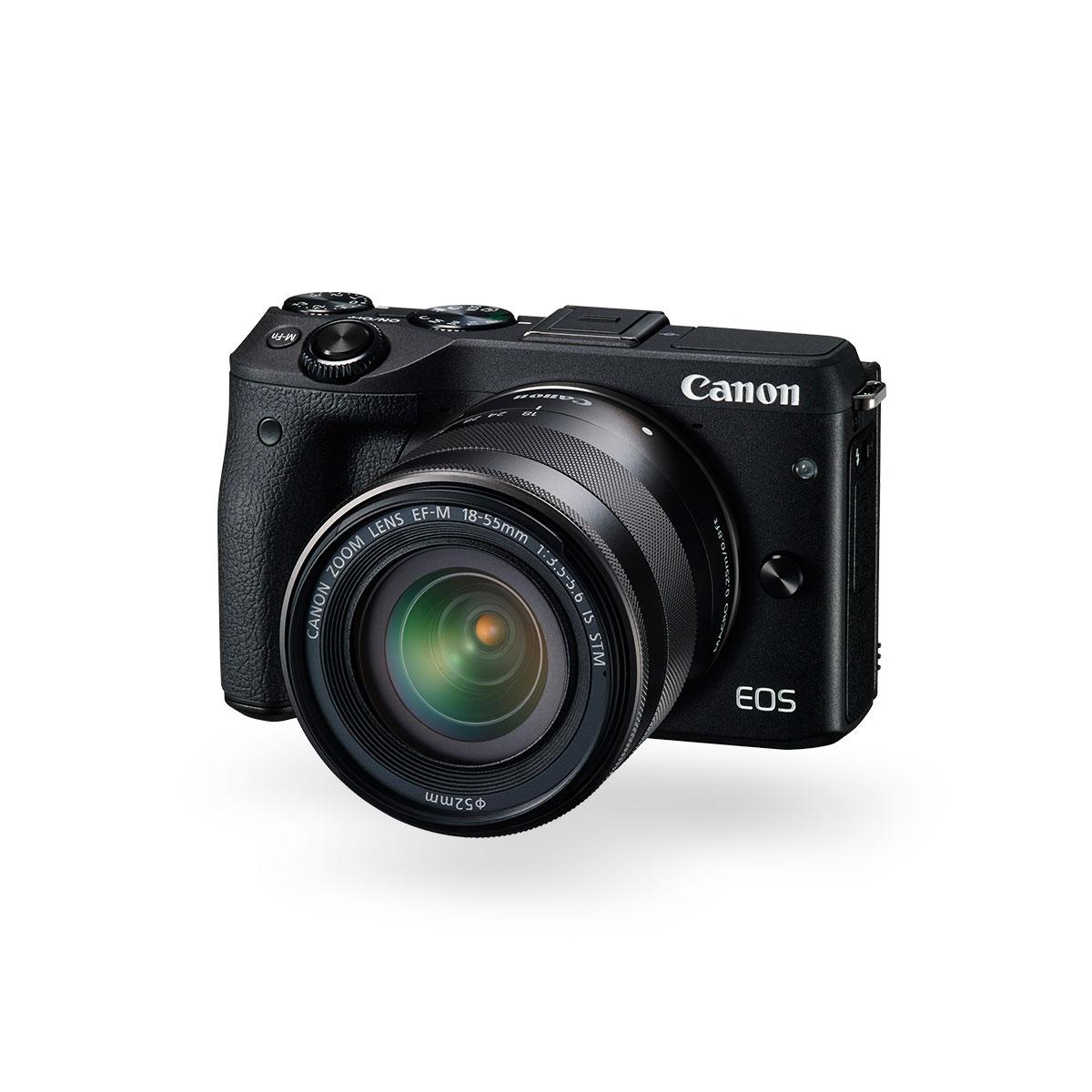 Canon EOS M3 compact camera