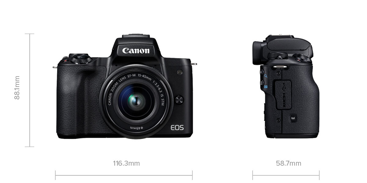 Image of EOS M50 specifications