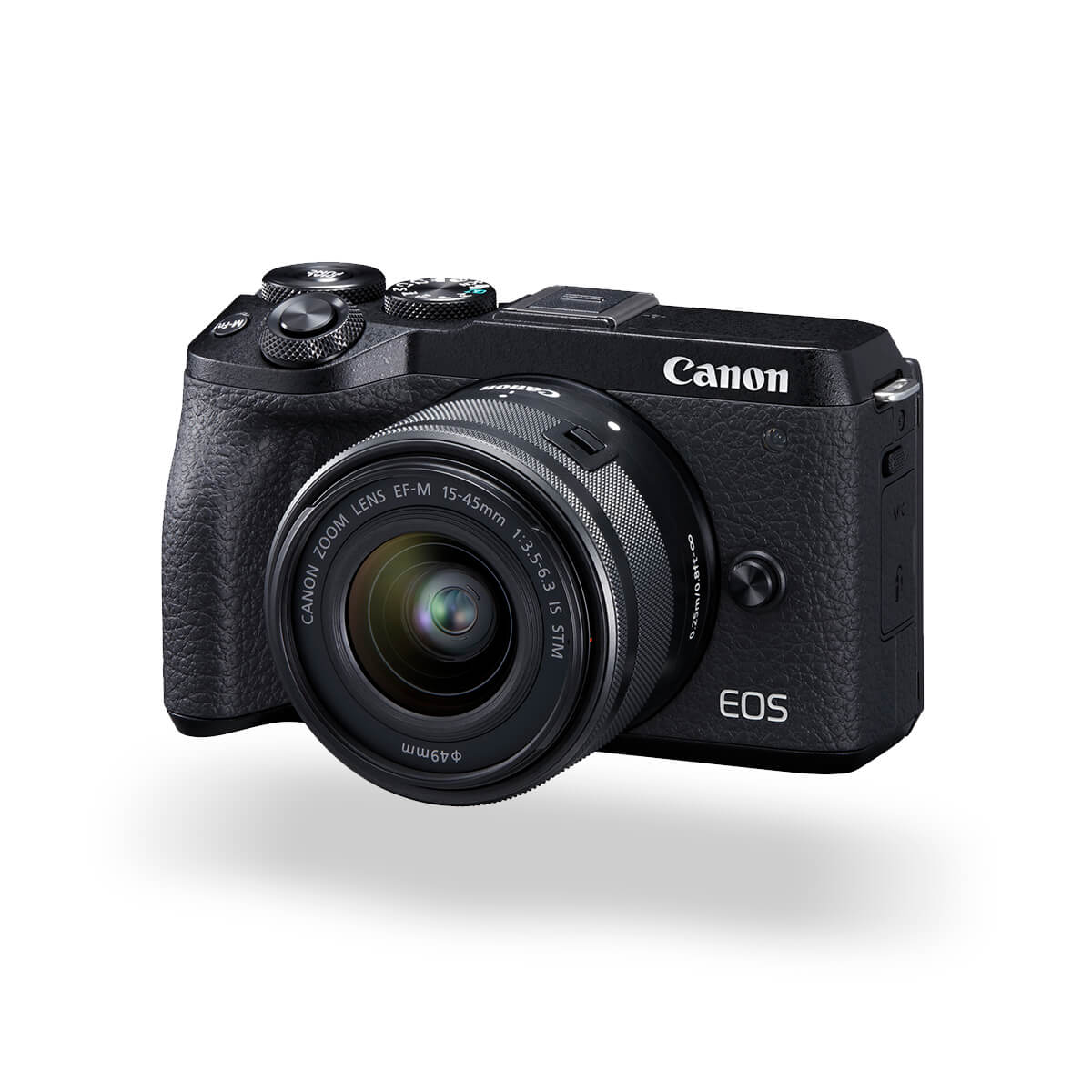 EOS M6 Mark II slanted left