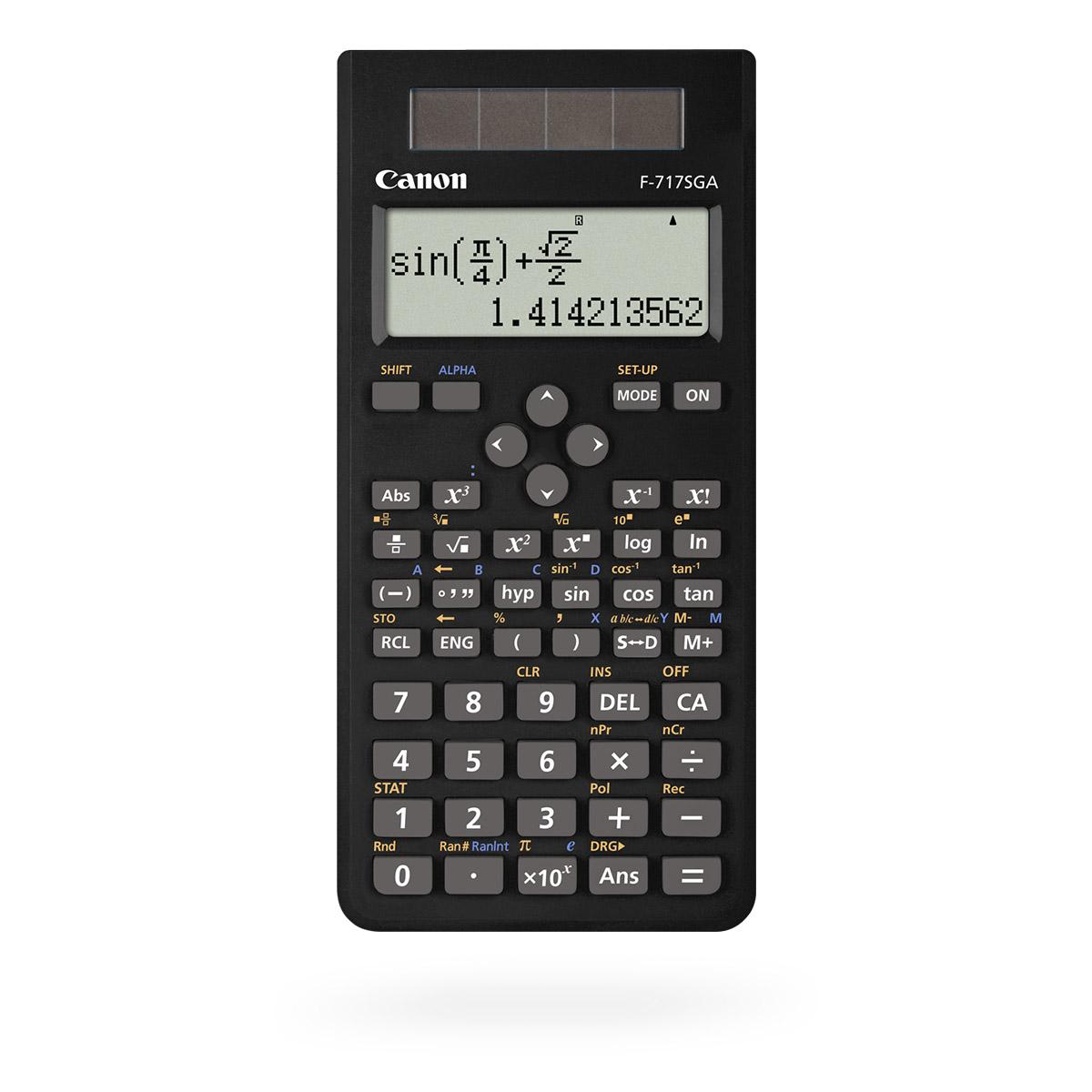 Canon F717SGA scientific calculator