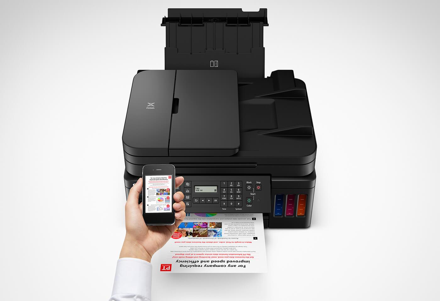 PIXMA Endurance G7060 G7065 wireless printing