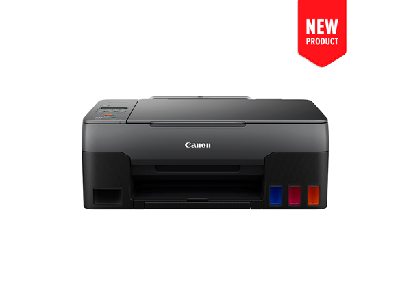 Product image of the new PIXMA G3620 MegaTank printer