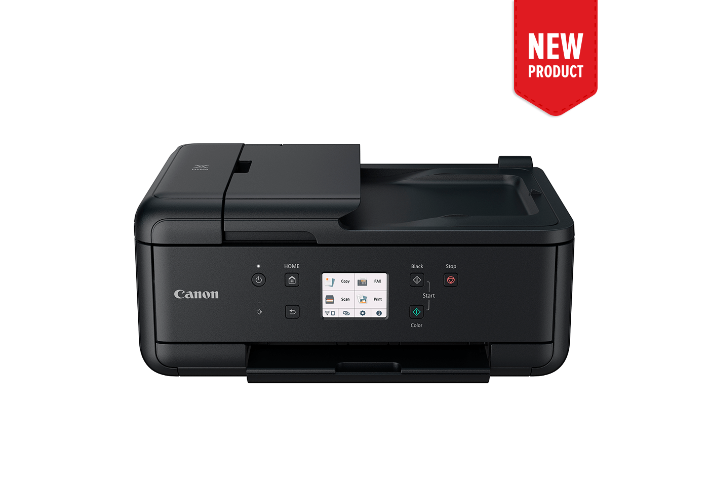 Product image of the new PIXMA HOME OFFICE TR7660 printer