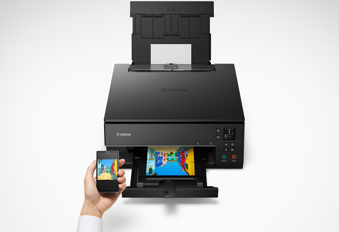 Print wirelessly with Canon Print App