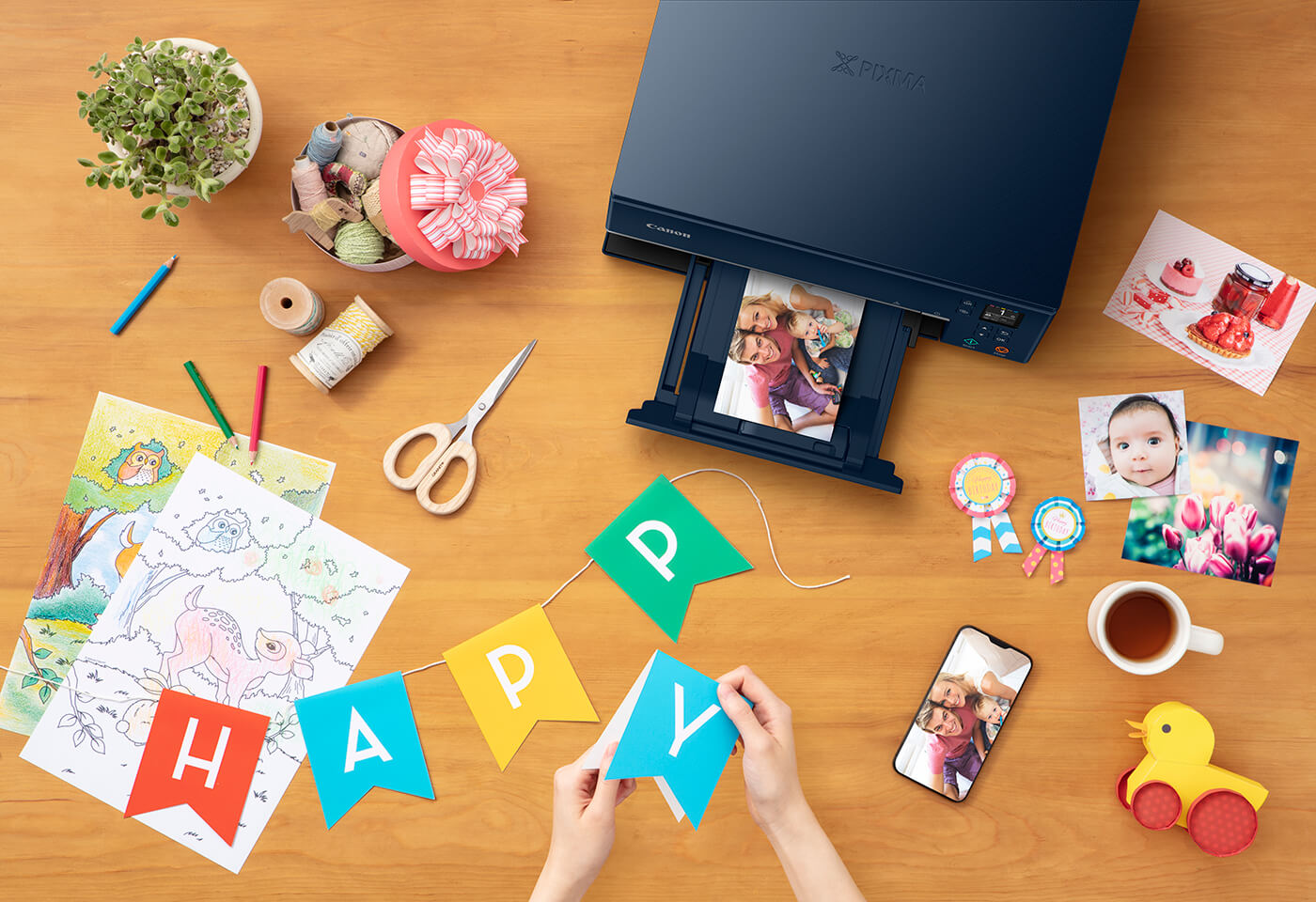 Print images using PIXMA HOME TS6365